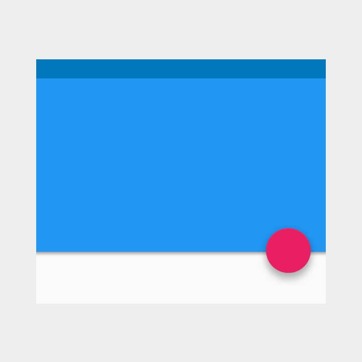 Floating Action Button Shadows - App UI Design trends