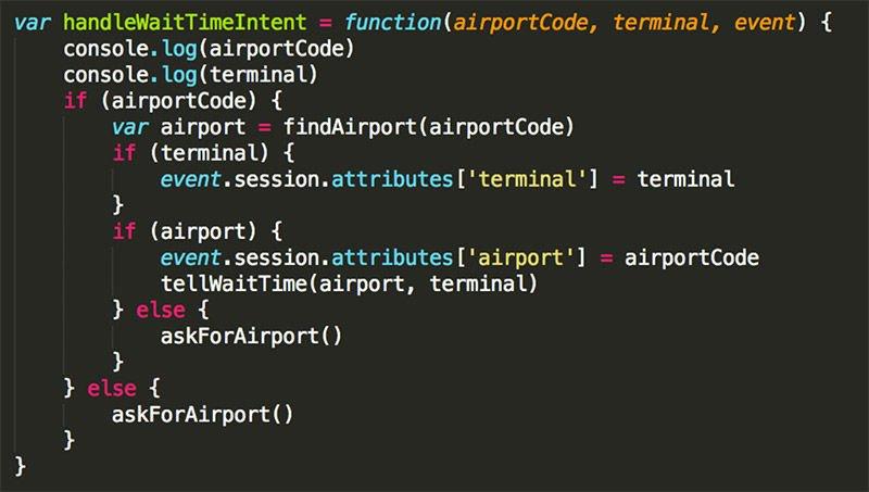 Alexa Skill Code