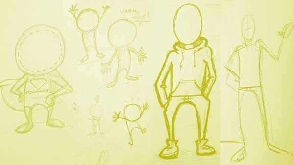 e2e early sketches