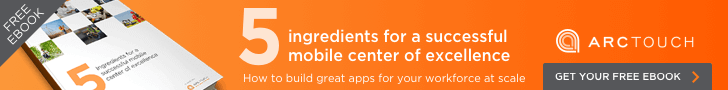 5 ingredients for a successful mobile center of excellence