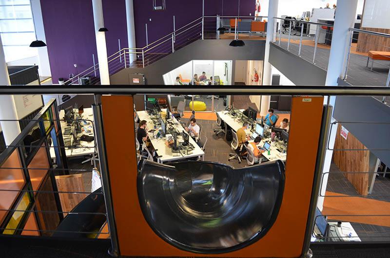 ArcTouch Brasil office slide