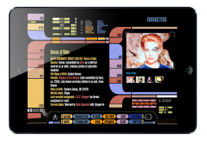 Star Trek PADD iPad app created by ArcTouch app developers