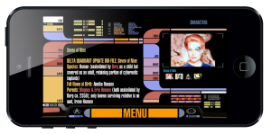 Star Trek PADD iPhone app created by ArcTouch app developers