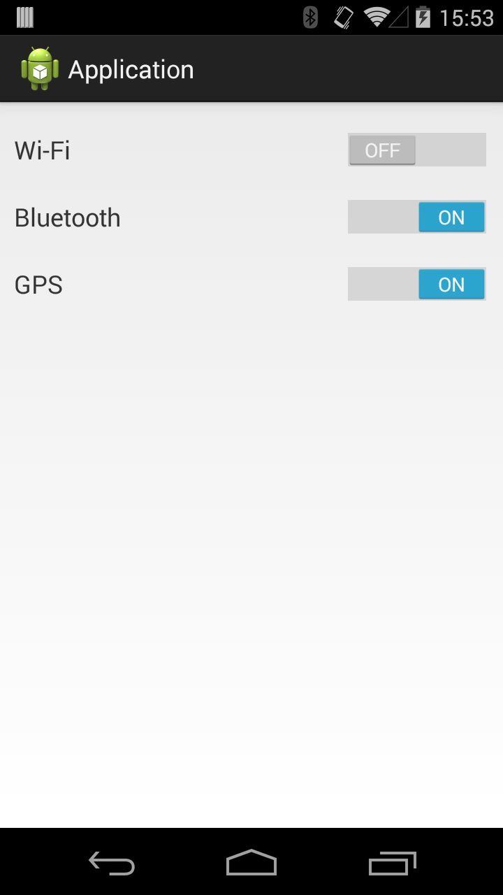 Android switches