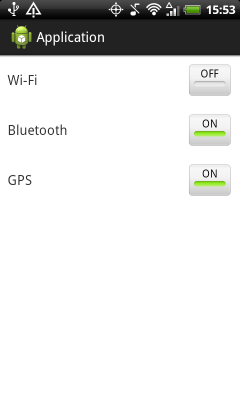 Android toggle buttons