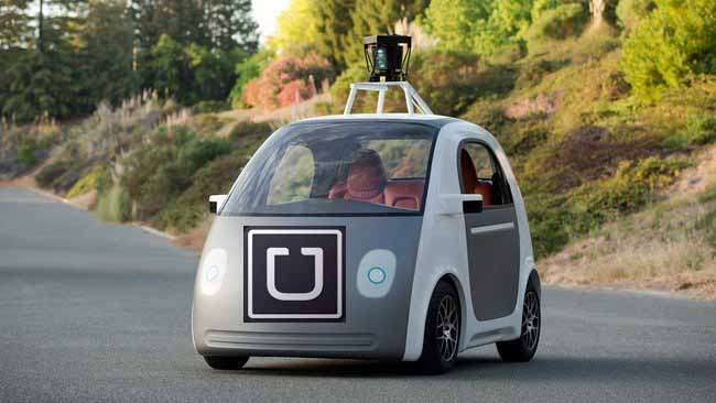tech predictions for 2015: Uber self-driving car