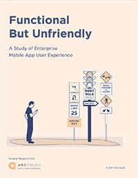 enterprise mobile user experience research cover image