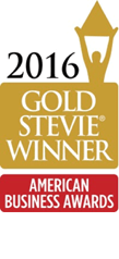 Gold Stevie American Business Award for Skyjet app by ArcTouch