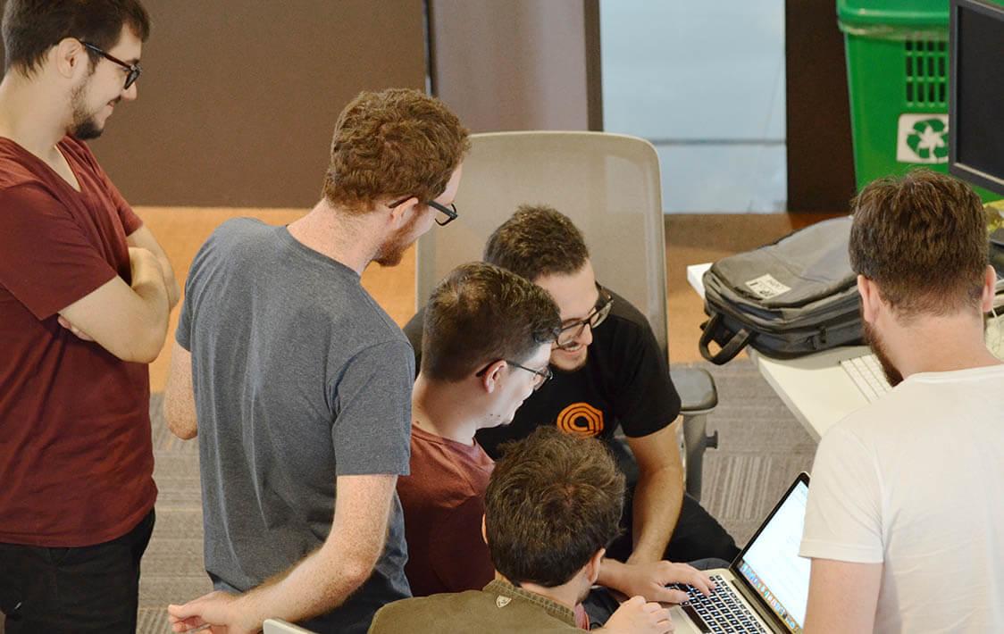 blockchain passionate team