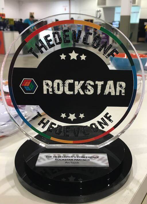 ArcTouch Rockstar Developer Award from TDC Brazil