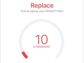 3M Filtrete Smart app replacement indicator