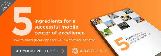 DevOps app development in Mobile Center of Excellence ebook