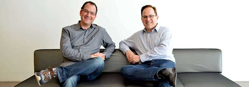 ArcTouch cofounders Eric Shapiro and Adam Fingerman