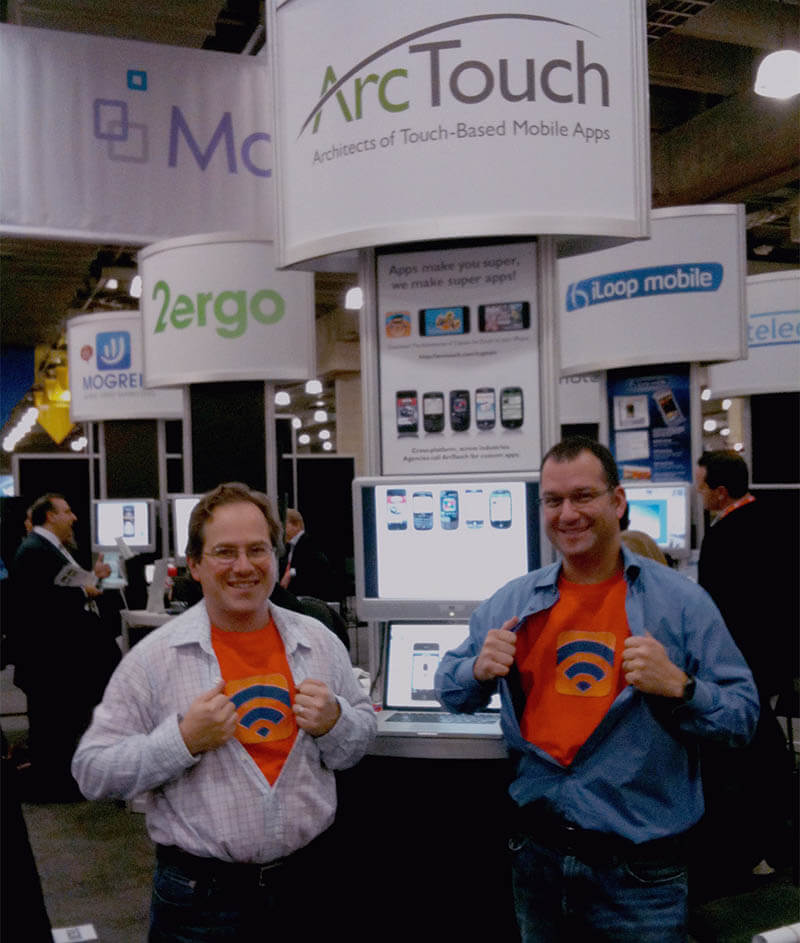 ArcTouch at AdTech conference in NY in 2010