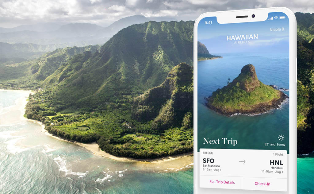 Hawaiian Airlines app development project