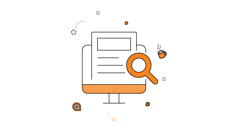 managing a remote design team magnifying glass