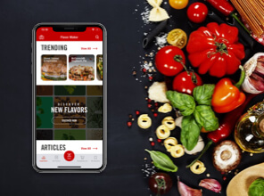 McCormick Flavor Maker app recipe finder