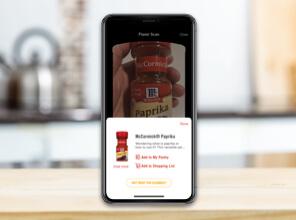McCormick Flavor Maker app spice scanner