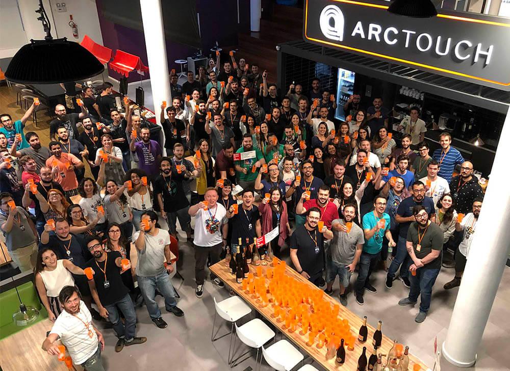 ArcTouch Brasil celebrates winning the GPTW award