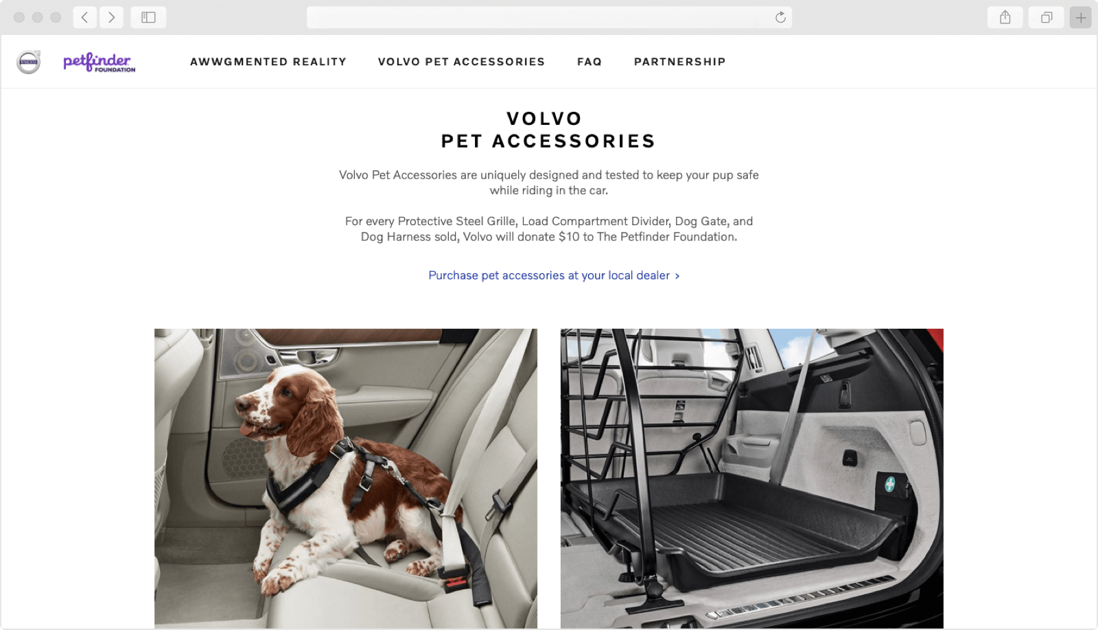 Volvo Website by ArcTouch