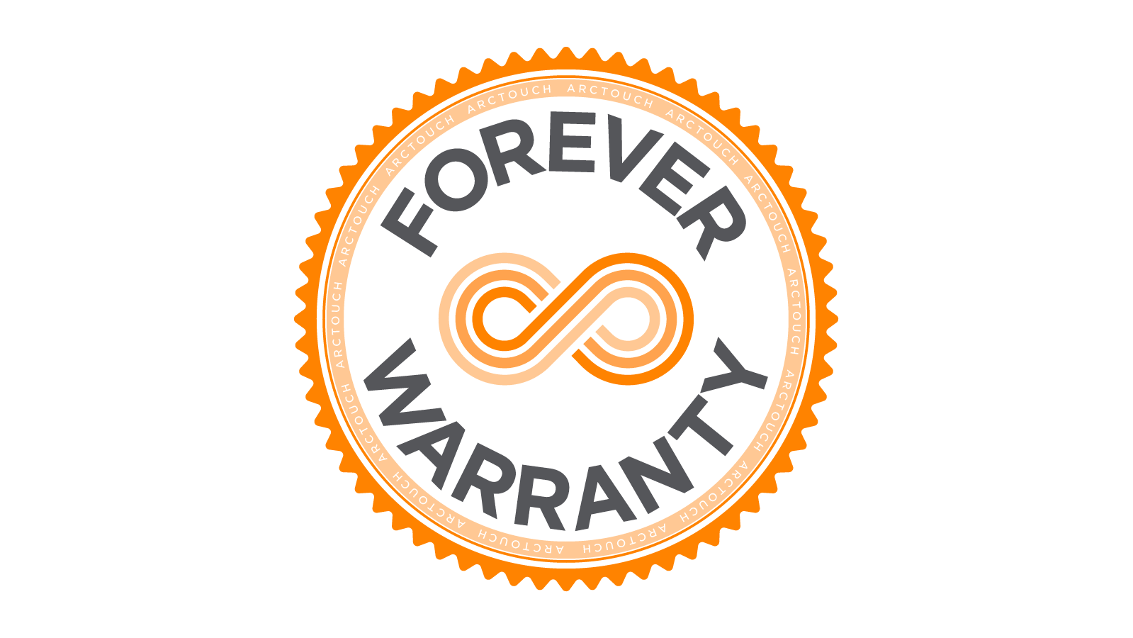 ArcTouch Forever Warranty logo