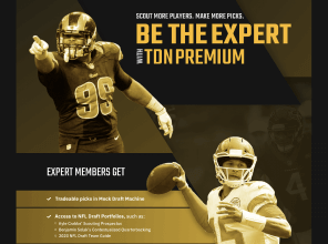 The Draft Network website premium subscription