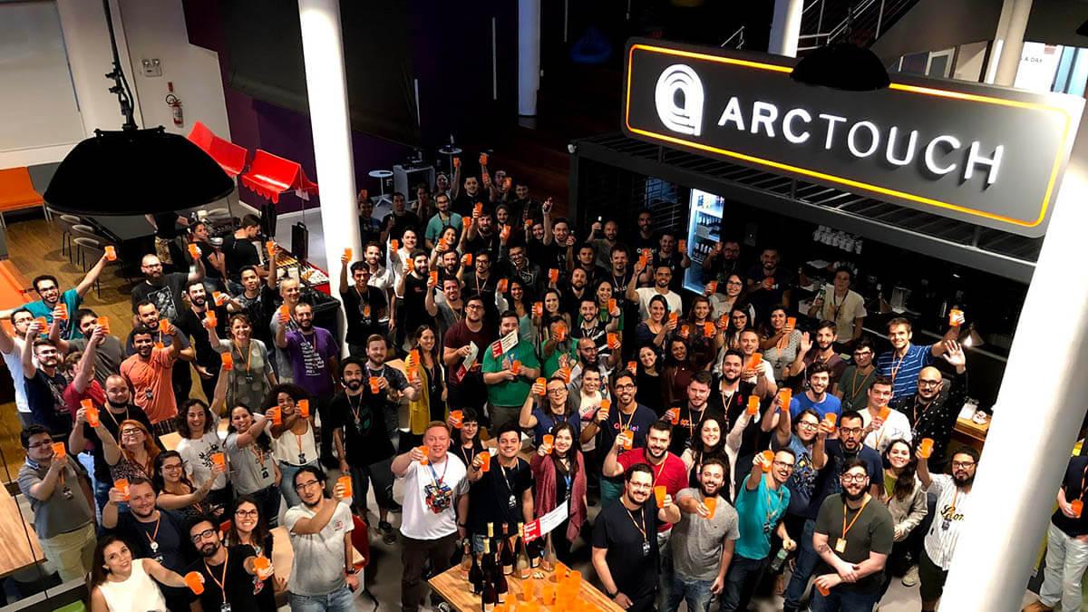 ArcTouch Brasil app development team