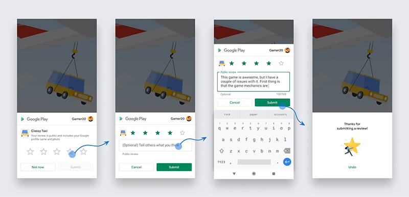 Android In-App Review Example
