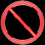 no hamburger menu icon - bad app UX example