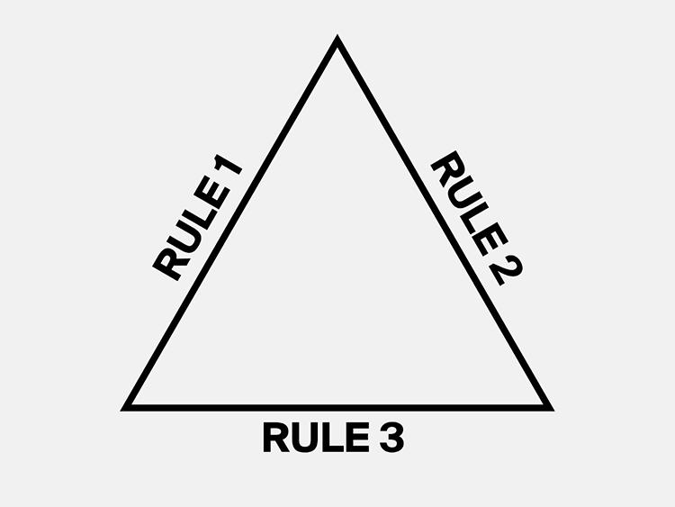 Magic Triangle for T-Shirt design